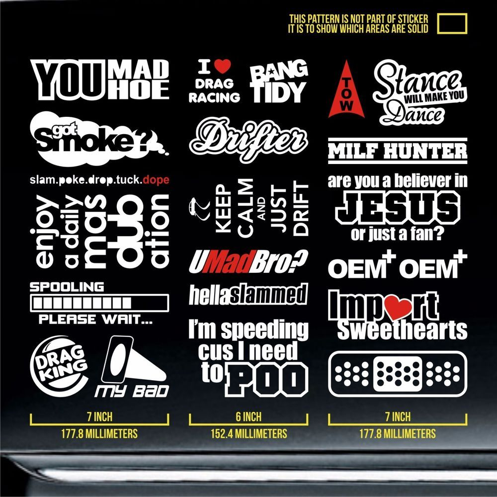 Jdm Sticker Pack Static Oem Silvia Limited Brz Usdm Boost Premium - Lexus custom vinyl decals for carthe shocker vinyl decal sticker jdm drifting nissan toyota honda