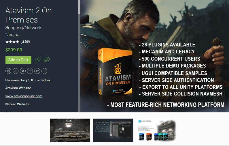 Atavism 2 On Premises (Atavism MMO Creator Starter License