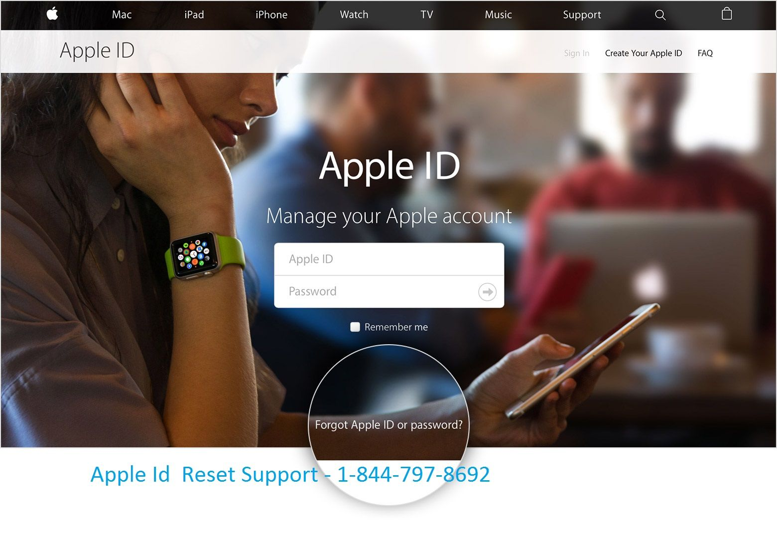 If you your Apple Id and want to recover safely