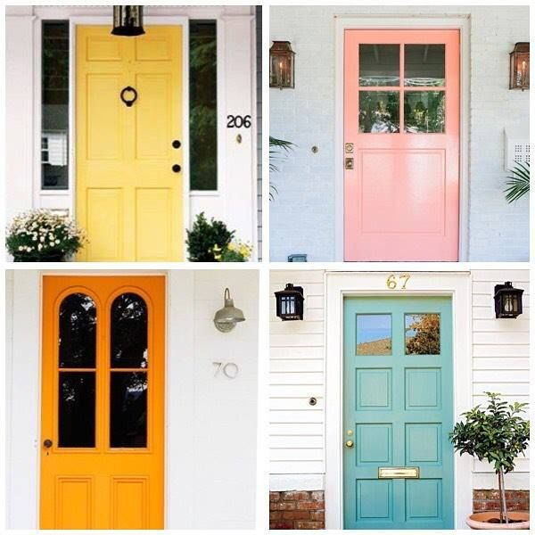 Monday Mornings Spent Trawling Pinterest For Front Door Colour