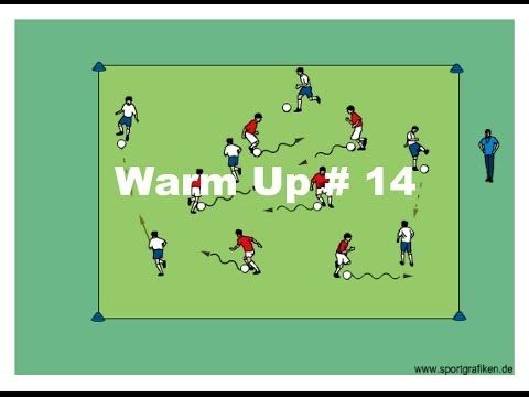 Soccer Warm Ups And Drills: Get Your Team Ready For The Challenge - YouTube