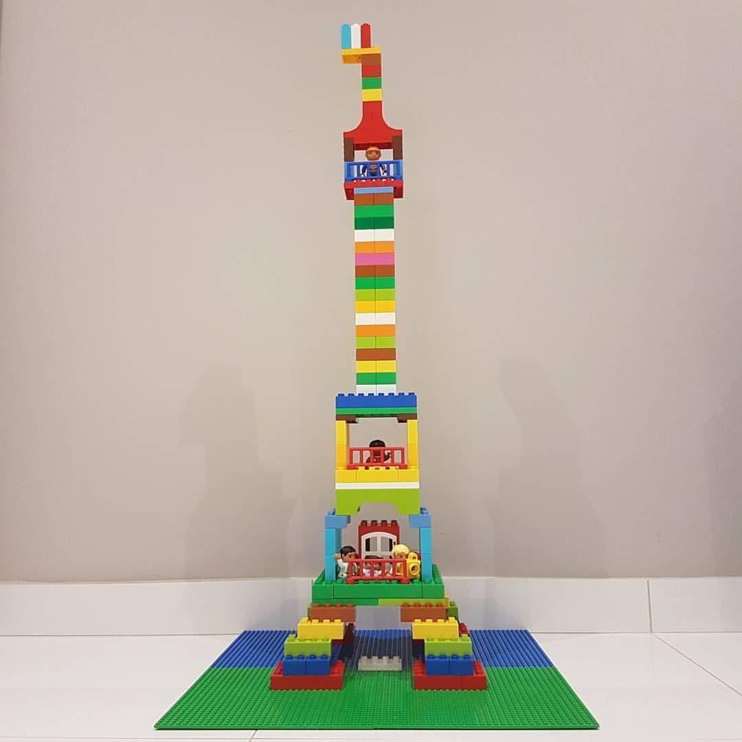 la tour eiffel lego duplo legoduplo legogram paris d fi de lego projets de lego