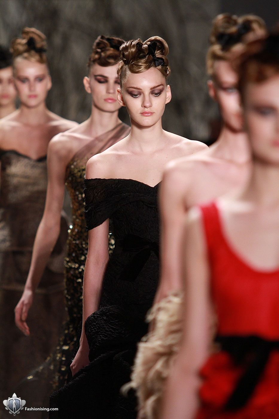 Monique Lhuillier, Fall 2011