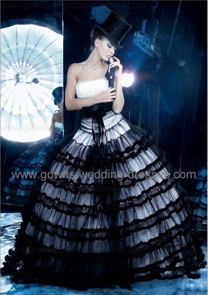 gothic wedding dresses | Just Because I Love It | Pinterest