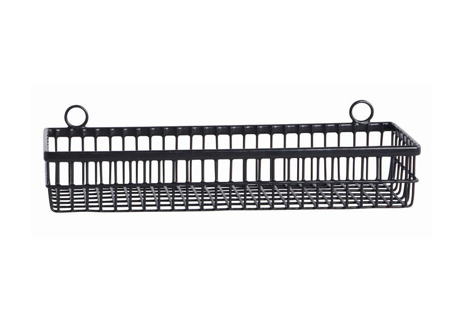 Wall basket Black-3945064173505 Peroba verkkokauppa (en)