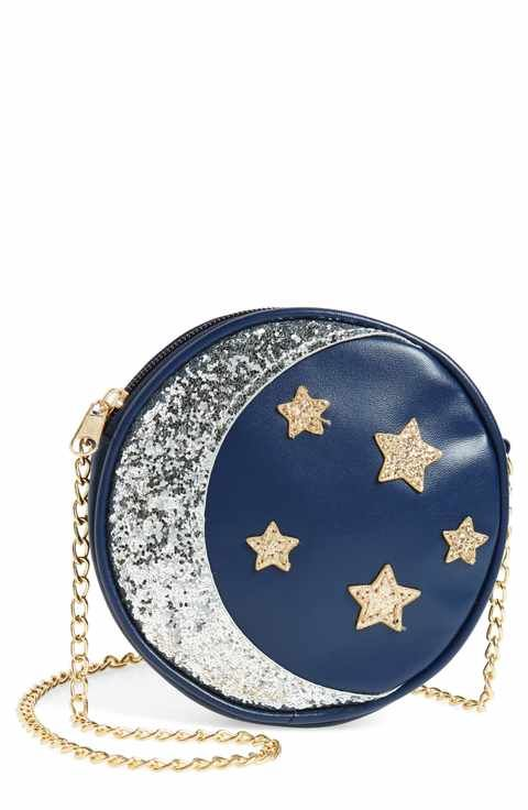 db4cb762852 Capelli of New York Sequin Stars & Moon Bag (Kids) | Bags in 2019 ...