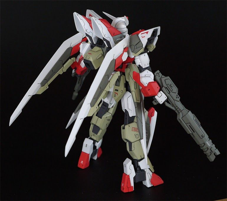"HGBF 1/144 Build Strike Gundam ""Slash Strike"" Custom Build - Gundam Kits Collection News and Reviews"