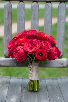 Delicieux Red Ranunculus Wedding Bouquet   Google Search
