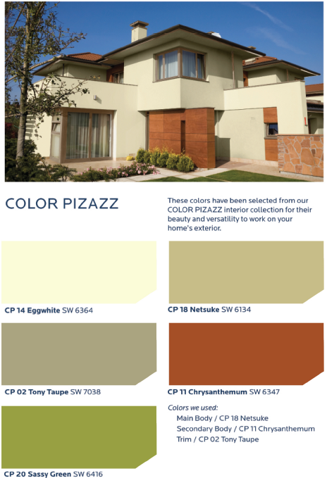 Showcase artistic flair and youthful exuberance with the - Hgtv exterior paint color schemes ...