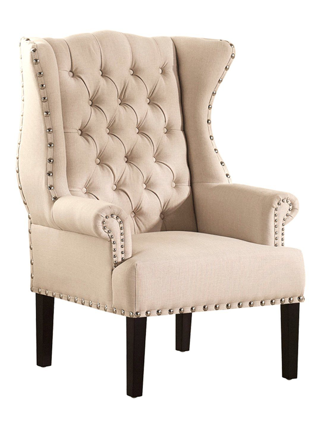 I Love This Design Studios Knuckey French Country Nailhead Wing