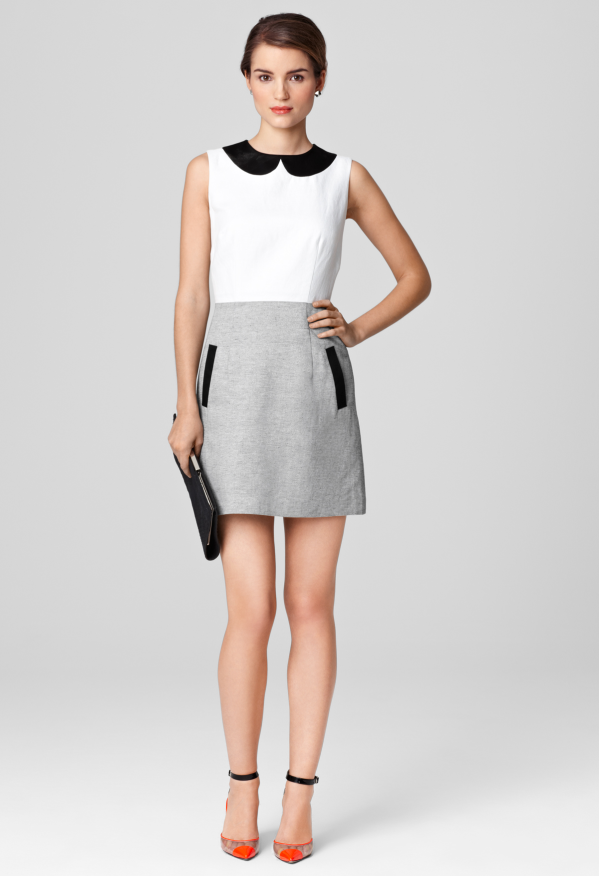 0f3dd87d8182 AMANDA COLLAR DRESS - Sale - Shop By Category MILLY NY