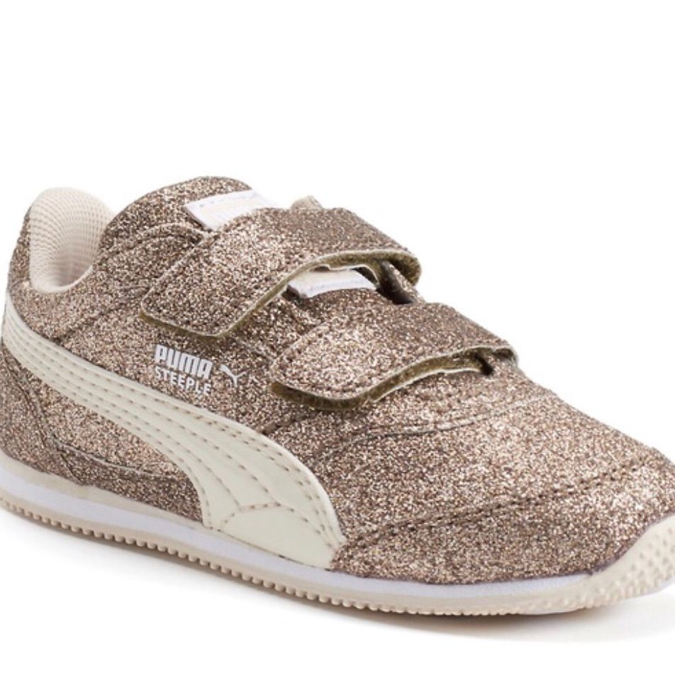 76b67cb629 Puma Shoes | Puma Sneakers For Girl Or Boy | Color: Gold | Size: 8g ...