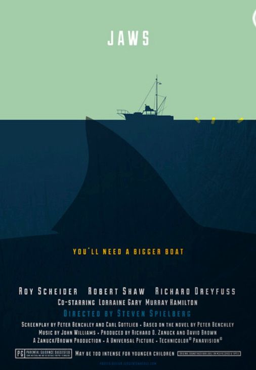 very cool Jaws poster