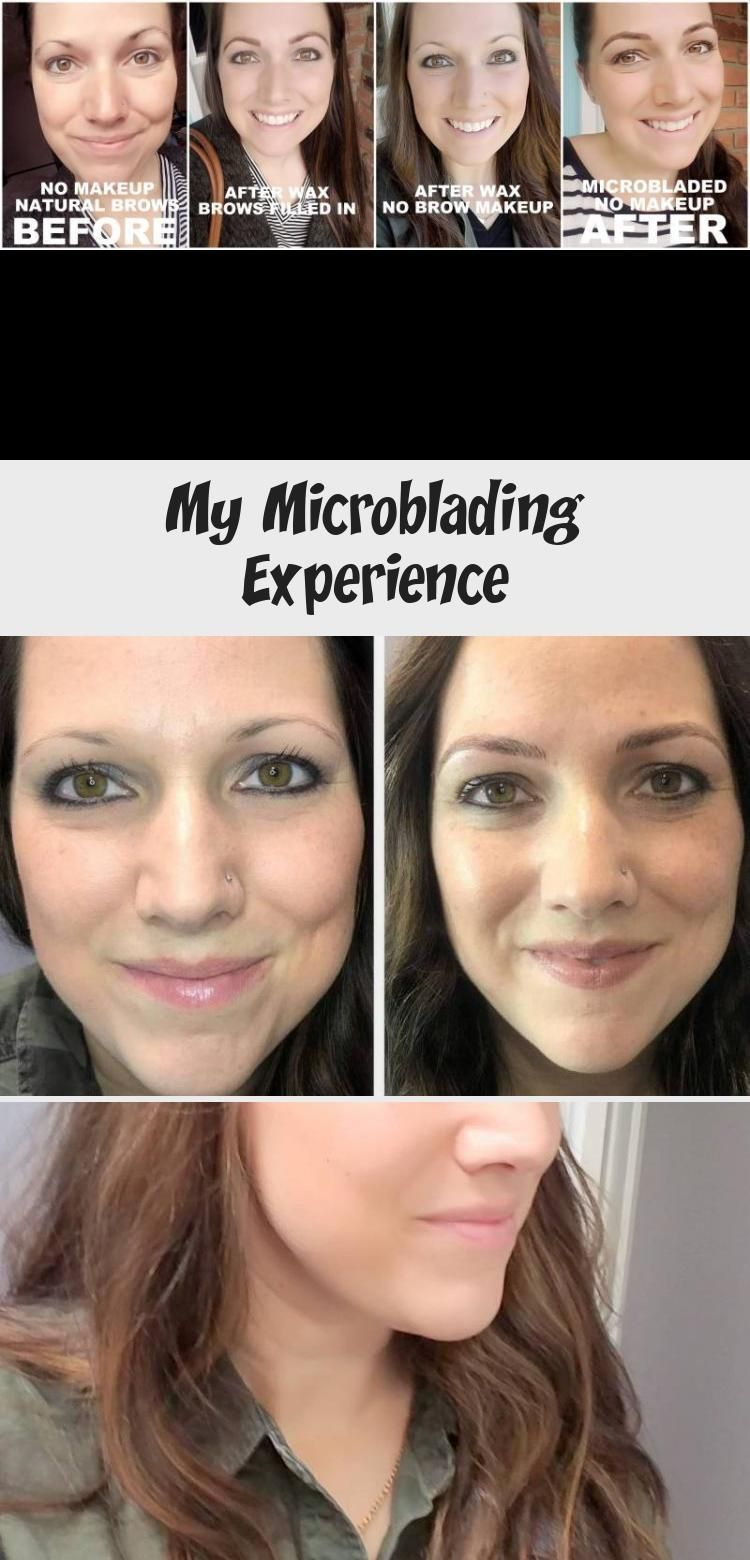 Photo of My experience with microblading! Everything I learned about the healing professional …