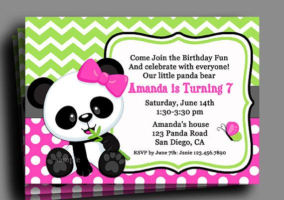 17 Best images about Panda Party Ideas on Pinterest | Party ...