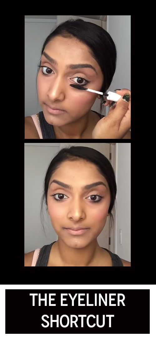 """You need to try this quick and easy hack to get the """"no liner"""" liner look."""