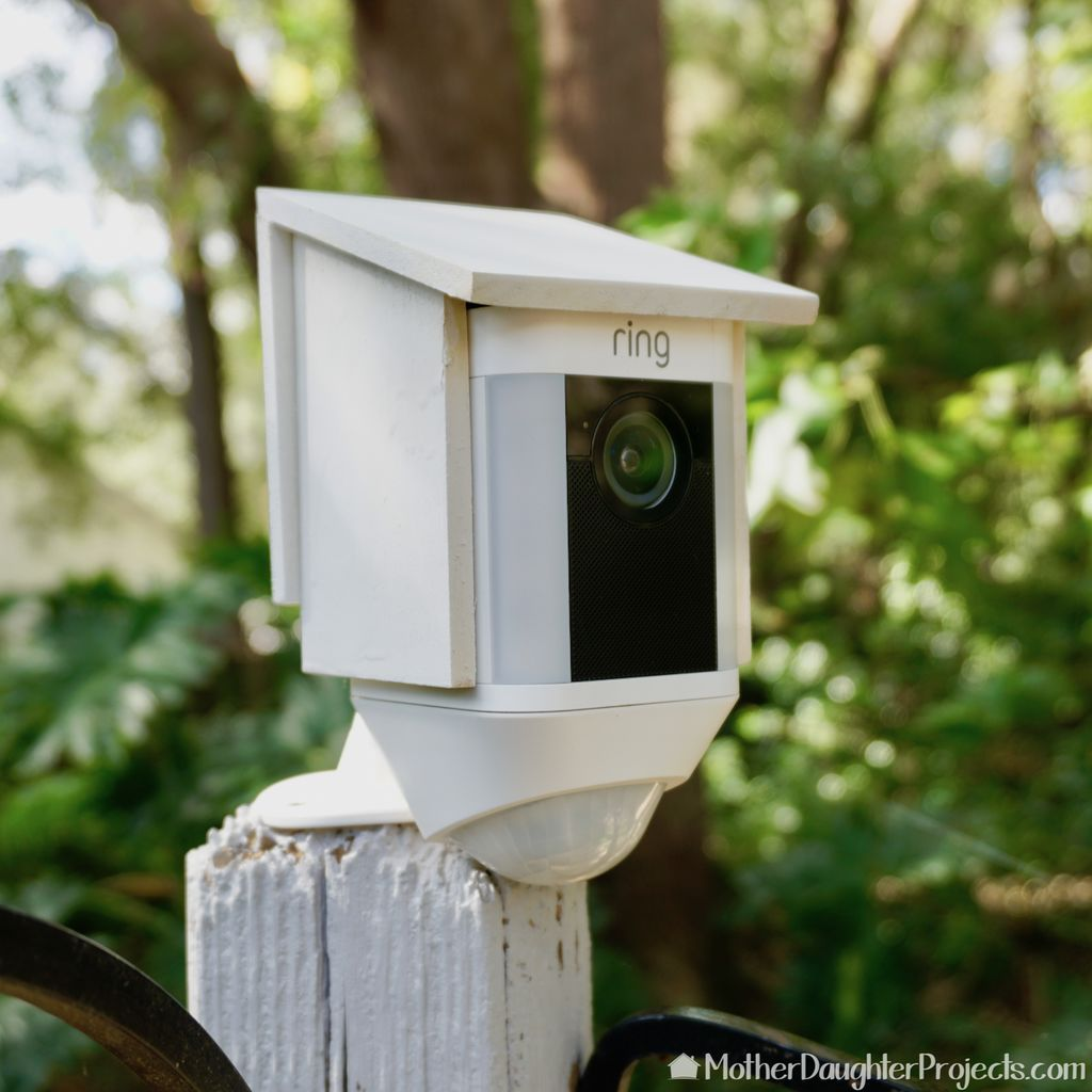 Diy Bird House Cover For Security Camera Bird House Best Home Security Home Protection