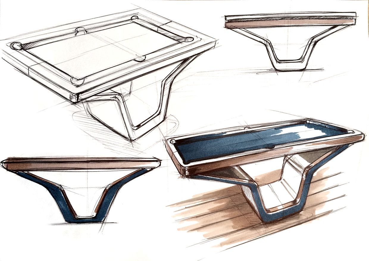 Ordinaire Delighful Table Httpmarctrancom1253022467090industrialdesign Intended Table  Design Sketches T .