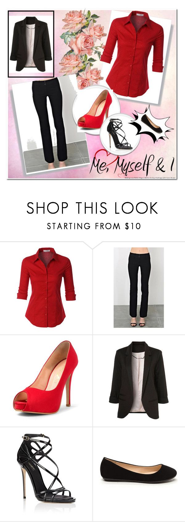 """""""Work"""" by alindsey2021 on Polyvore featuring LE3NO and Dolce&Gabbana"""