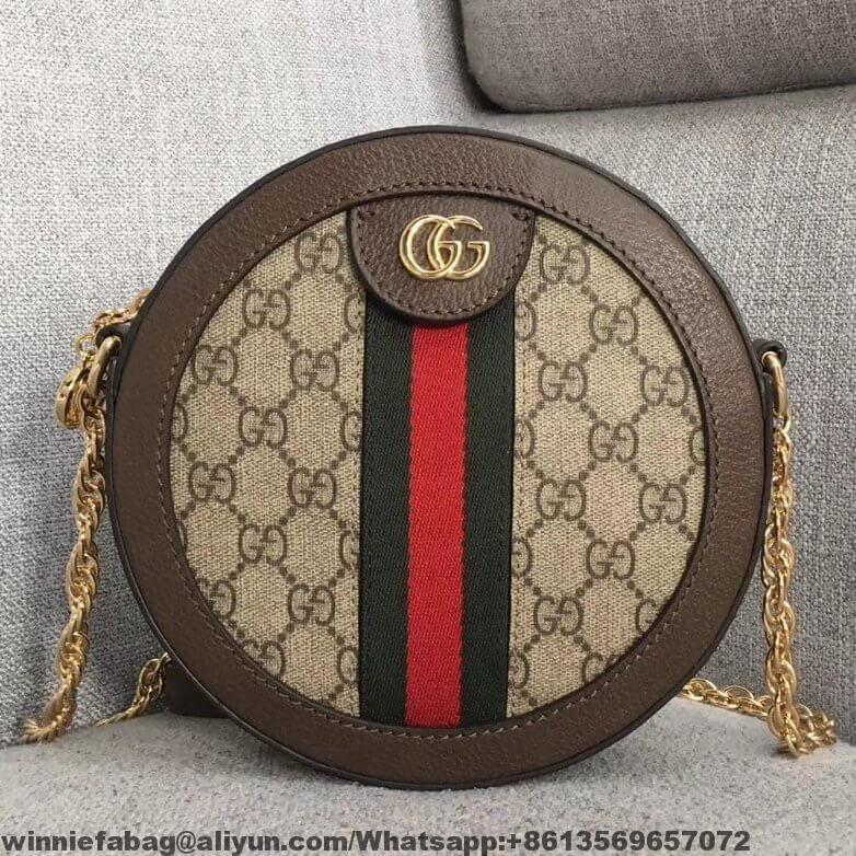 dd9516e141738f Gucci Ophidia Mini Round Shoulder Bag 550618 | Gucci | Bags, Gucci ...