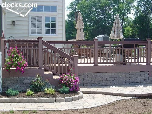 Low Elevation Deck Picture Gallery Deck Pictures Above