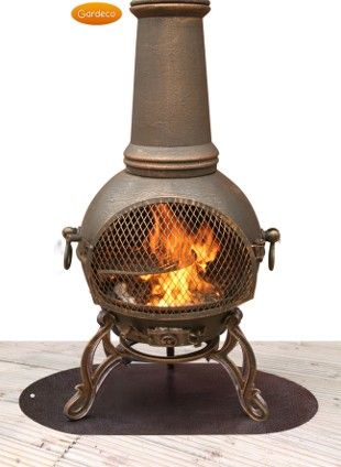 Floor Protector For Chimineas And Firebowls Chimineashop Co Uk Wood Burning Fire Pit Fire Basket Stainless Steel Fire Pit