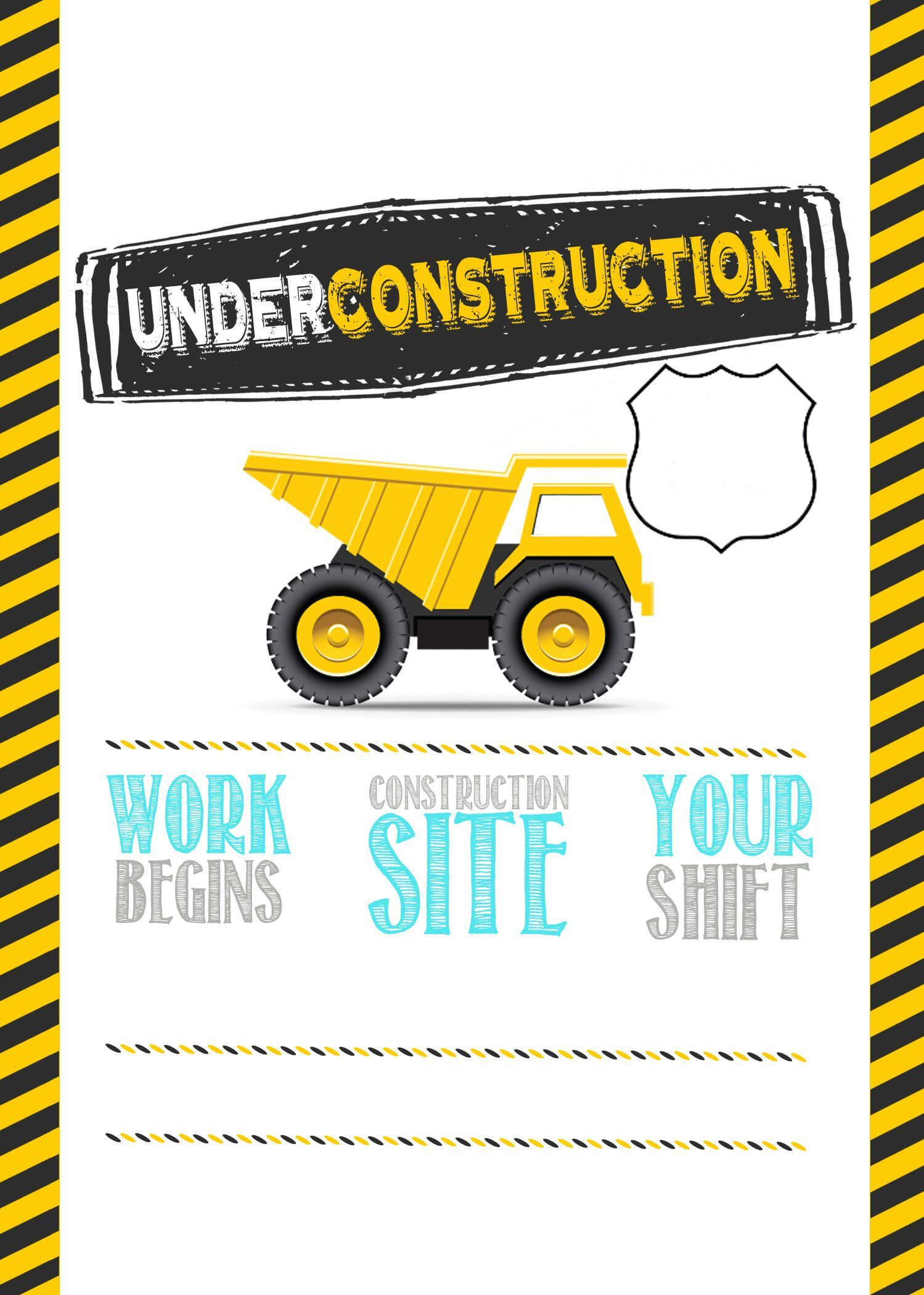 construction birthday parties