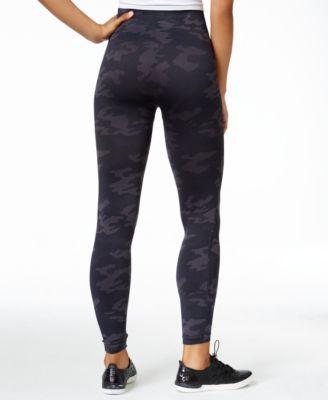 9a21c182ff13b Spanx Women's Look At Me Now Tummy Control Camo Leggings - Black Camo