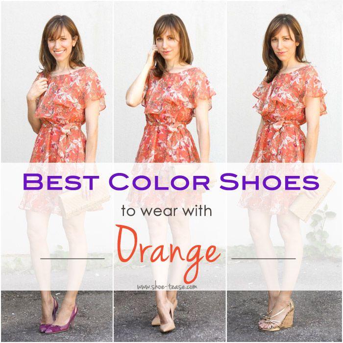 Orange dress, Orange formal dresses