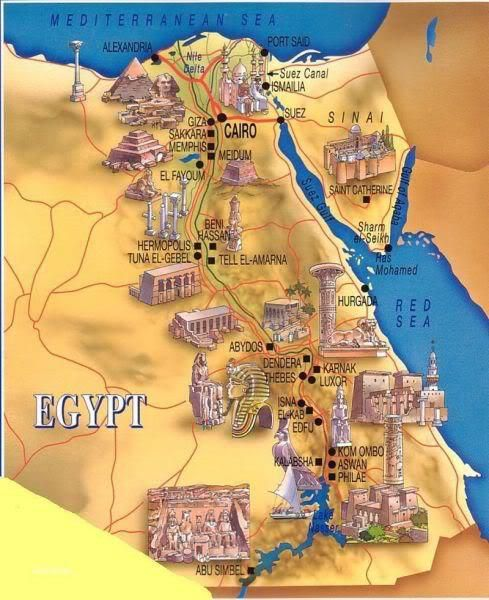 Egypt Museum Map Egypt Pinterest Egypt Museum And Travel - Map of egypt with pyramids