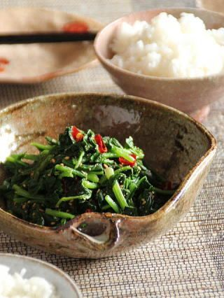 Ohitashi japanese spinach side dish japanese food cuisine forumfinder Images