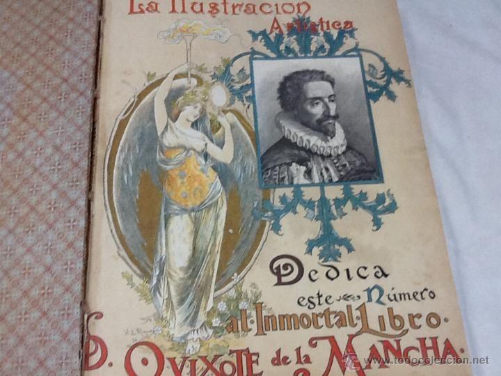 Libros antiguos en todocoleccion: La ilustracion artística. 1895, año completo