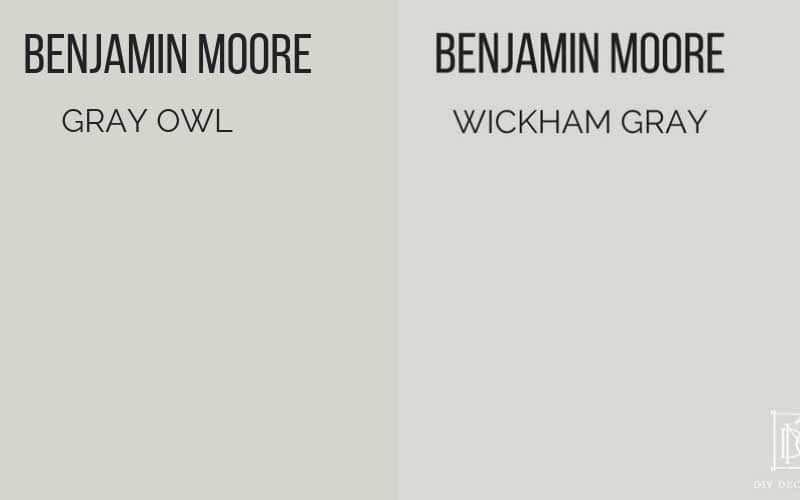 Benjamin Moore Gray Owl A Bluish Light Gray Benjamin Moore Grey