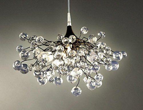 Lampe Plafond Suspendu Luminaire Suspension Boules Transparentes