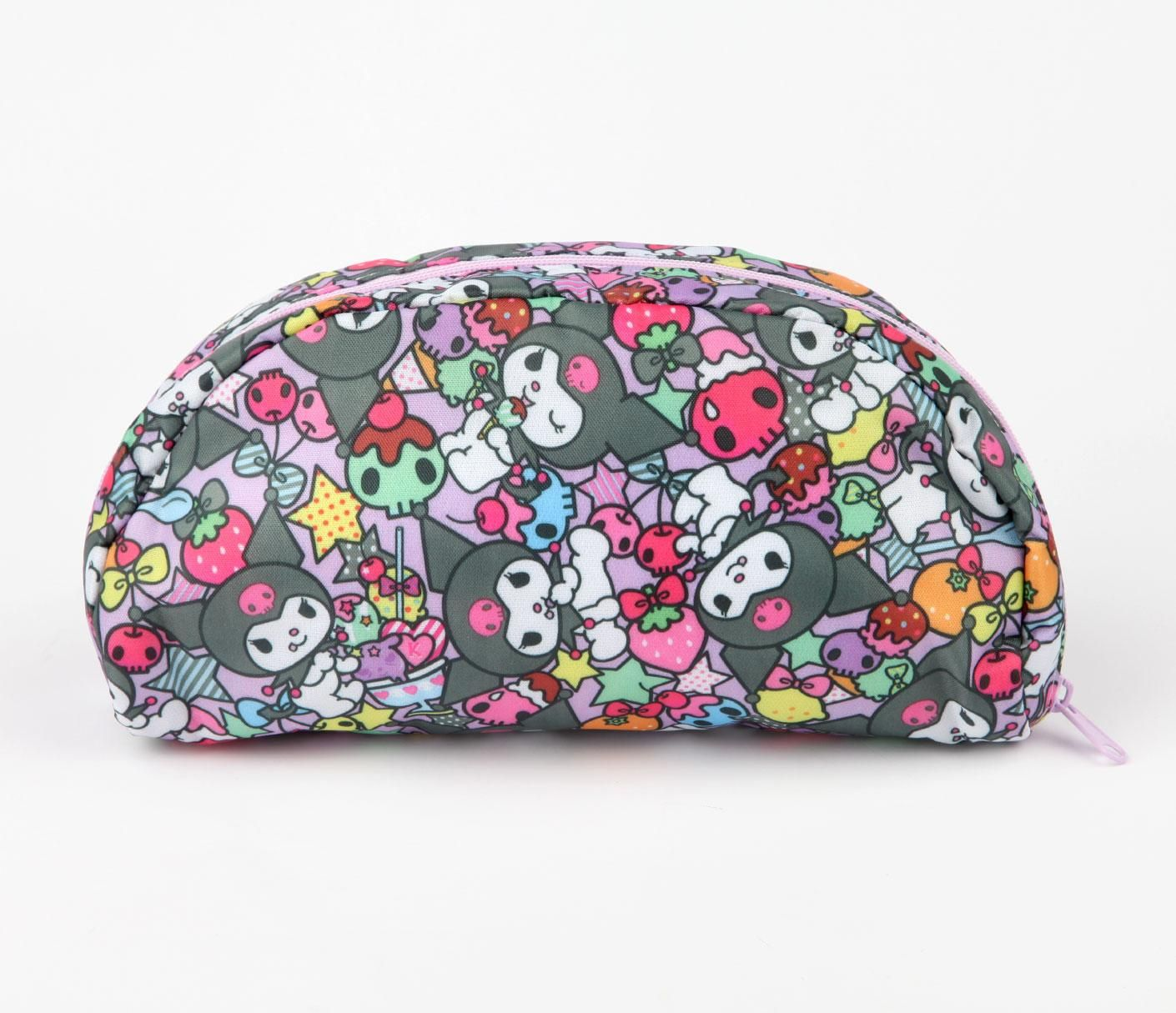 42c98962f Kuromi Pencil Case: Playtime Pen Case, Cute Makeup Bags, Carry All Bag,