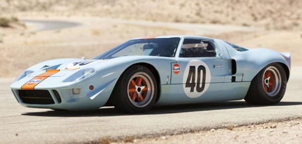 The Ford Gt40 Once Owned By Steve Mcqueen And Used His Le Mans