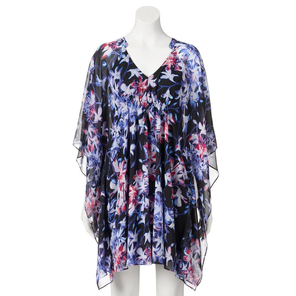 Women S Jennifer Lopez Print Caftan Dress Products