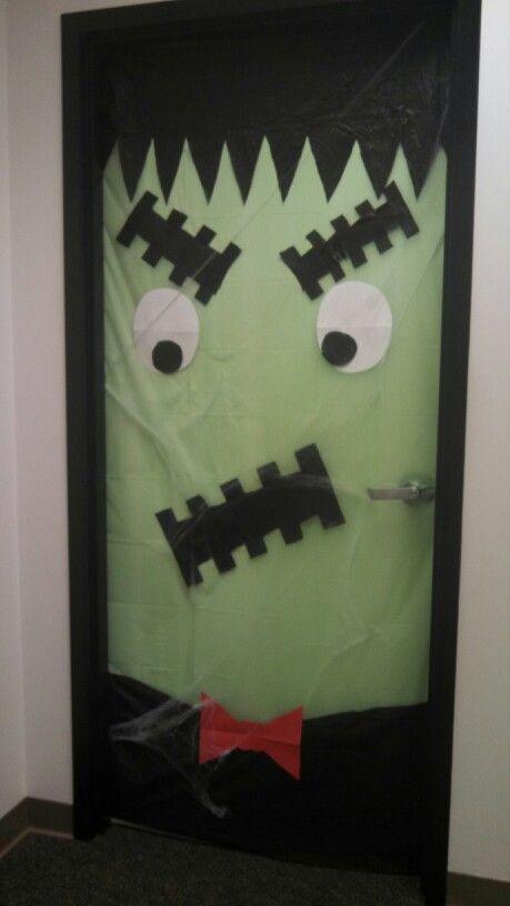 Halloween Office Door Decorations Halloween Pinterest