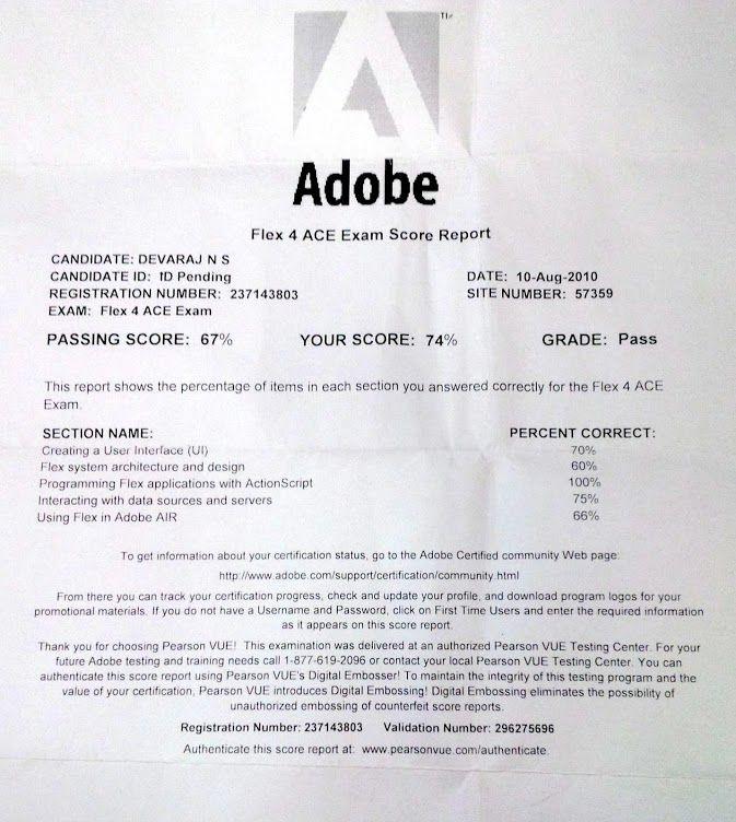 adobe certificate certification tools training cob loaf cs5
