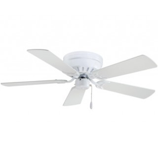 Low Profile Flush Mount Hugger Ceiling Fans With Or Without