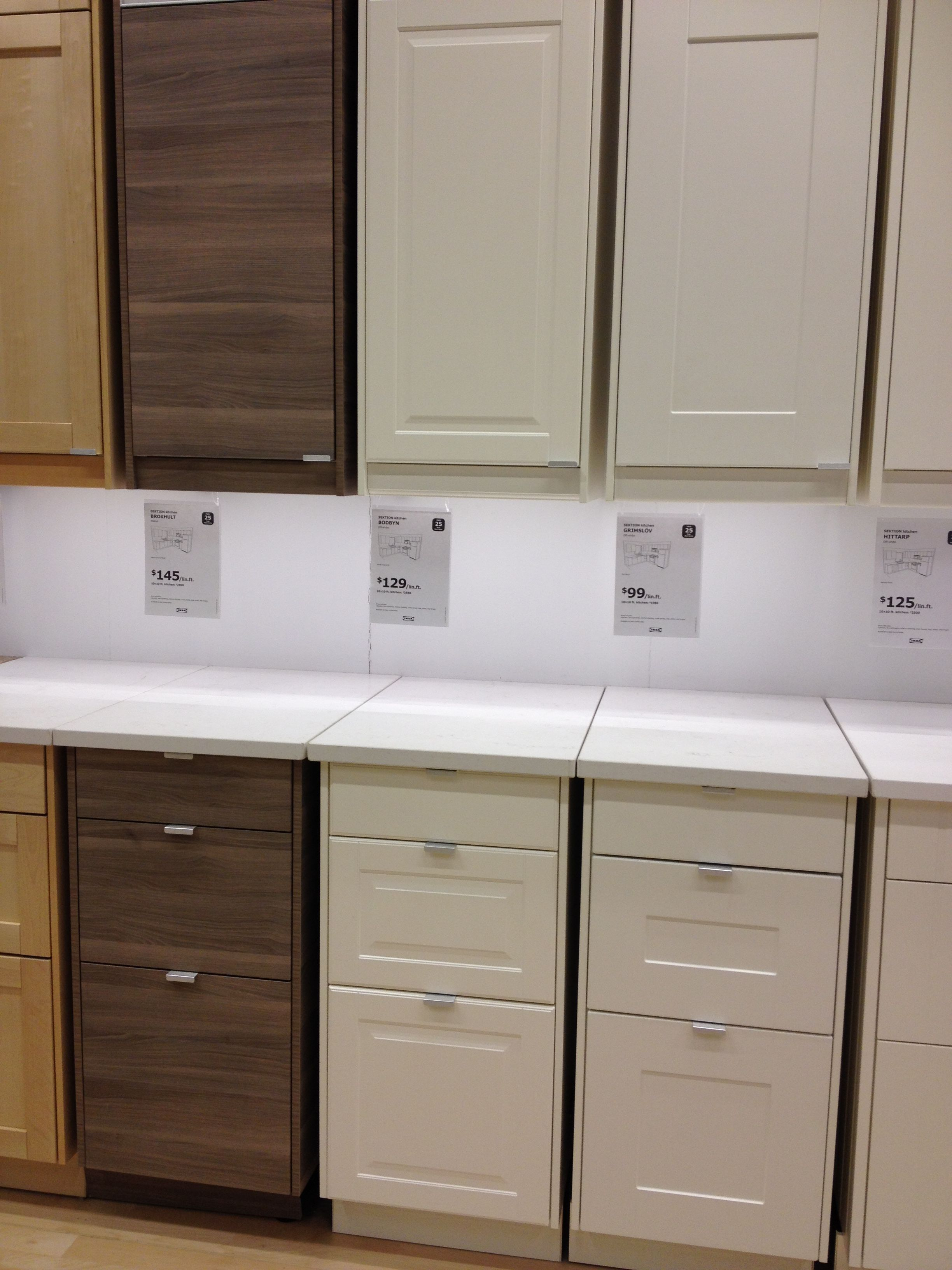 Best Ikea Bobdyn Cabinets In Off White Ikea Kitchen Ikea 400 x 300