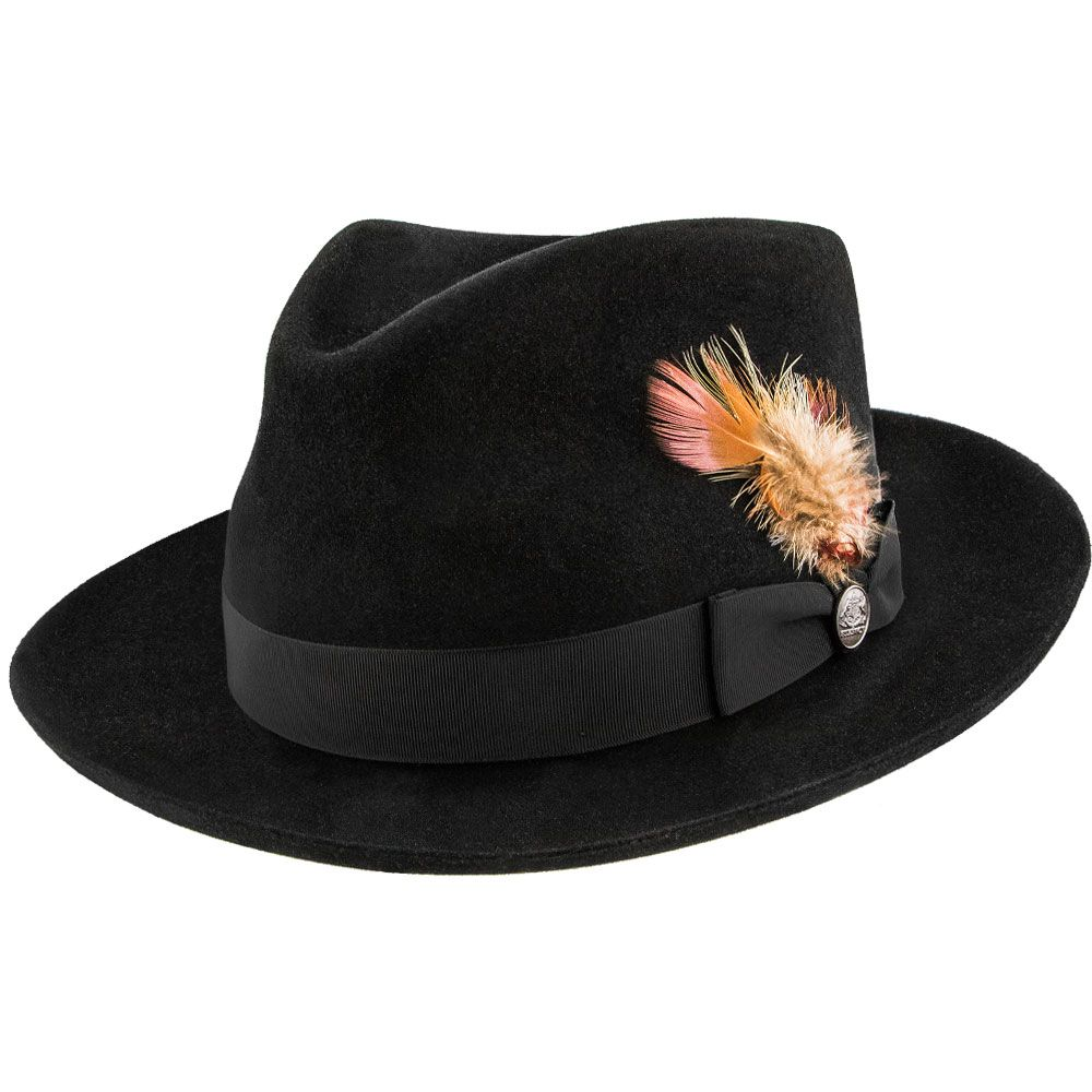 Lowest Price on Chatham - Stetson Fur Felt Fedora Hat - TFCHAT. 7d0c6569277