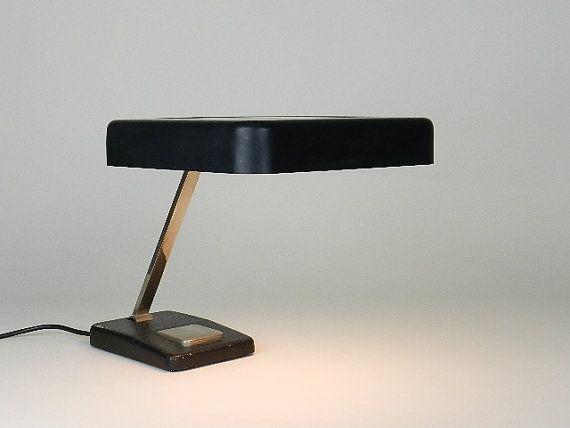 1950s Hillebrand Desk Lamp mid century modern by ZigZagmidcentury