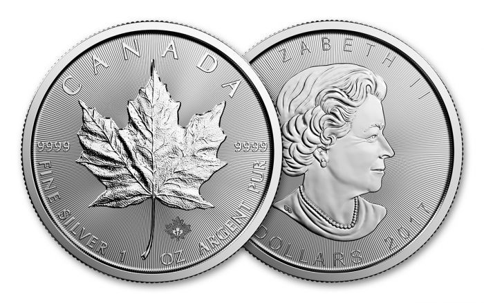 2017 Canada 5 Dollar 1 Oz Silver Maple Leaf Bu Govmint Com Silver Maple Leaf Maple Leaf Hobo Art