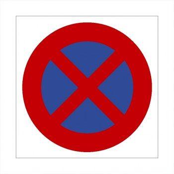 Verboten Parkverbots Schild Ausfahrt Freihalten Parken Verboten Aufkleber Schilder Aufkleber Ausfahrt Freihalten