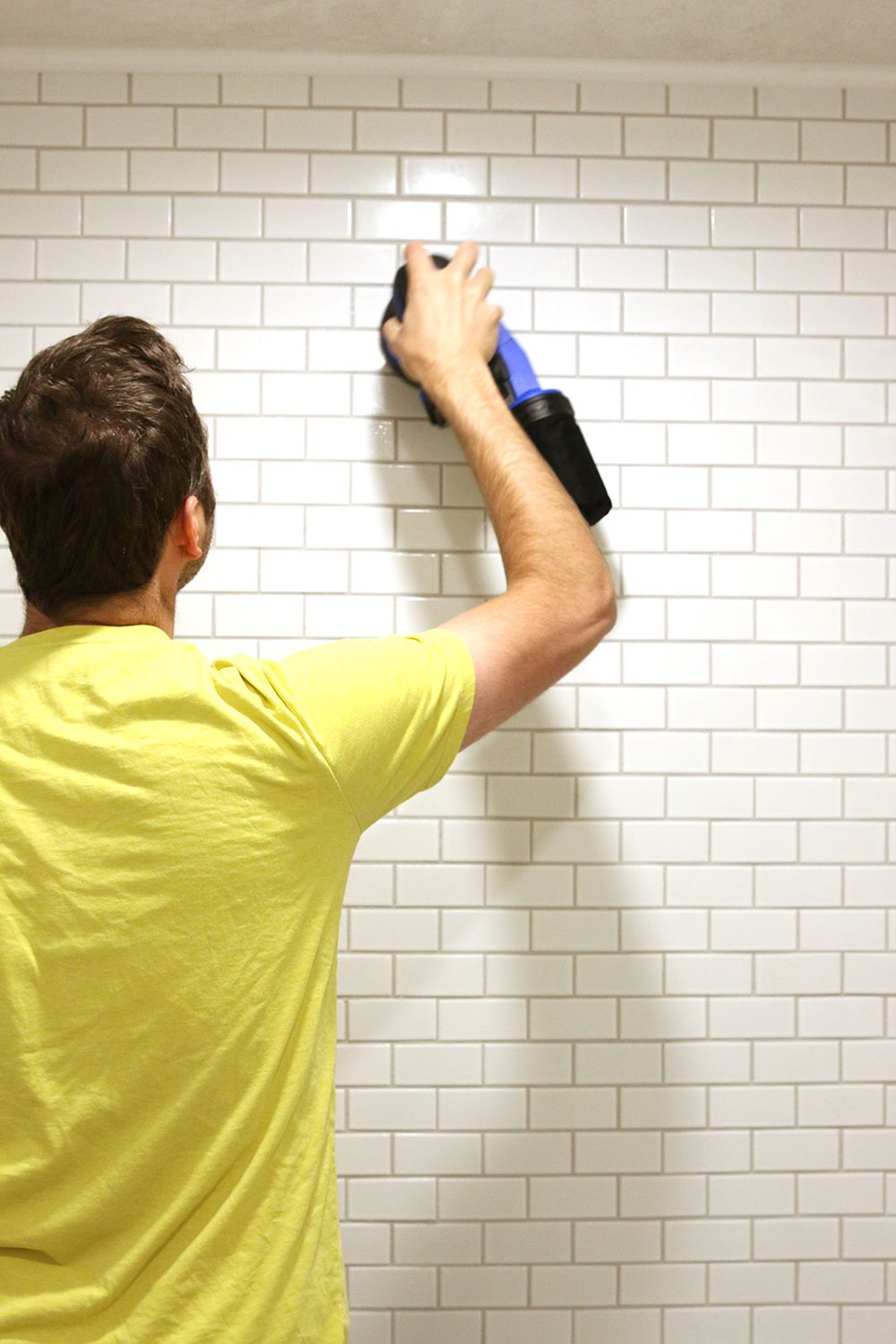 A Cool Hack For Removing Grout Haze   Grout, Bathroom tiling and ...