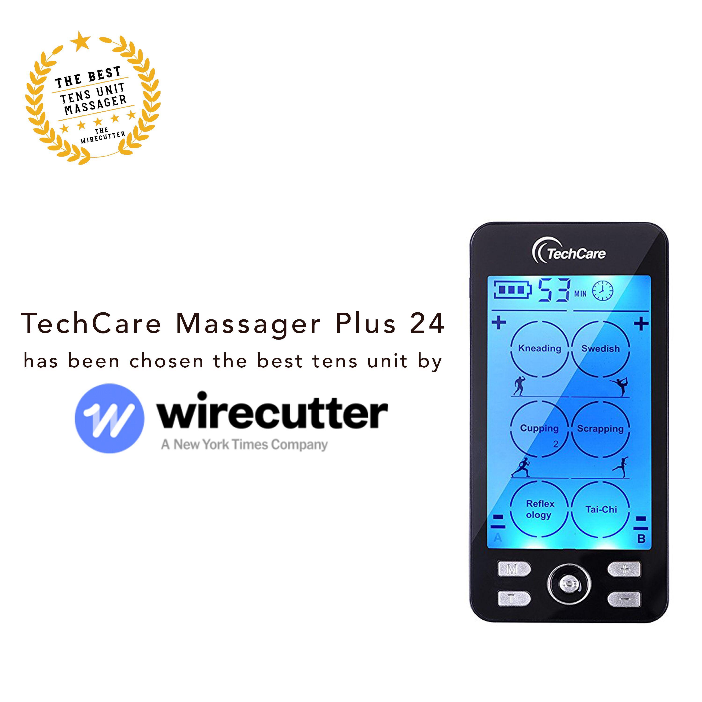 Techcare Plus 24 Modes Tens Unit With Images Ten Unit The Unit Ten