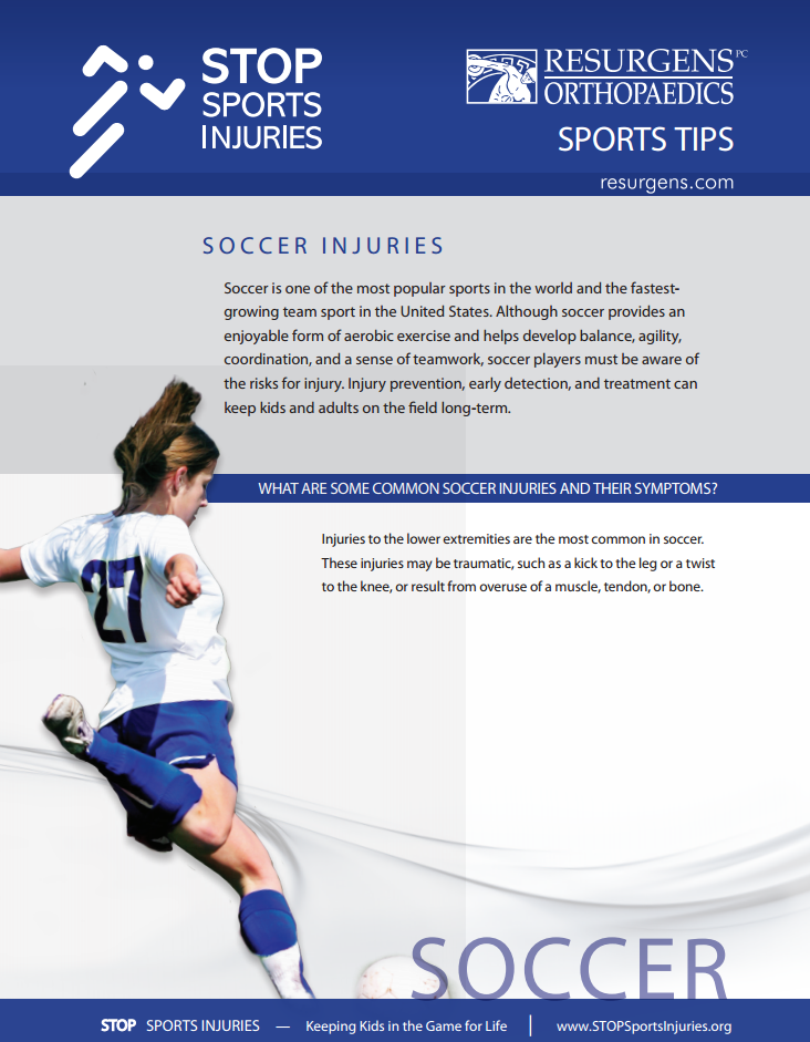 Soccer injuries can be treated best by physical therapy