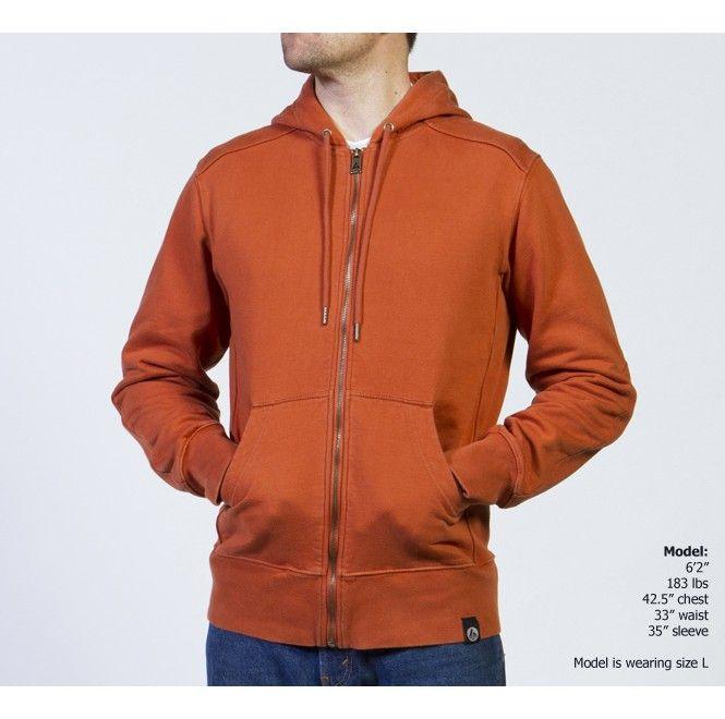 Full Zip Hooded Sweatshirt| High Quality I USA Made | American Giant