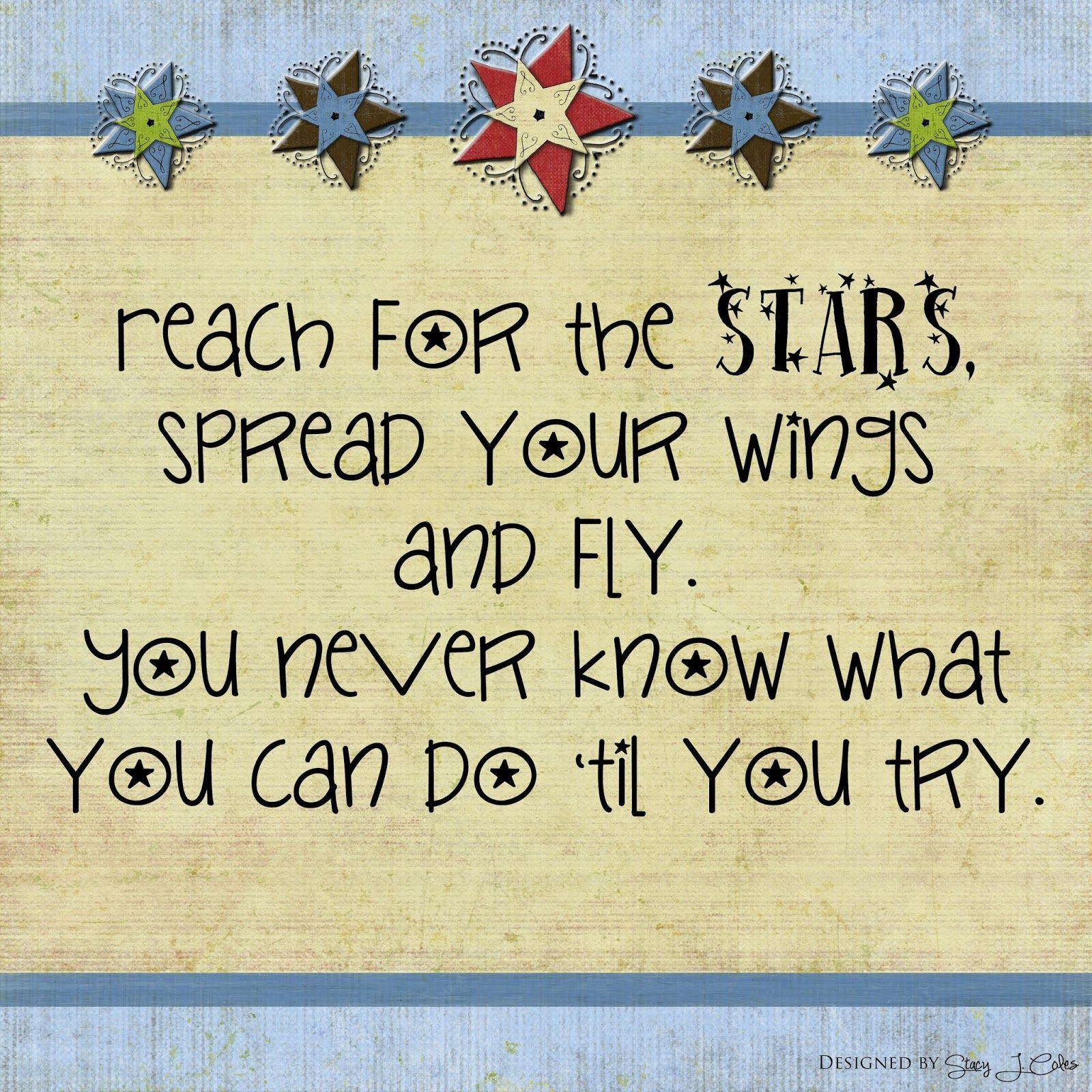 Say This Write Reach For The Stars Preschool quotes